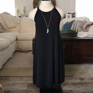 Black Cupro Dress